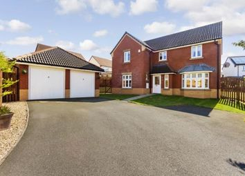 Thumbnail 4 bed detached house for sale in Challum Drive, Motherwell, North Lanarkshire