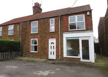 4 bed semi-detached house for sale in Post Office Road, Dersingham, King's Lynn PE31