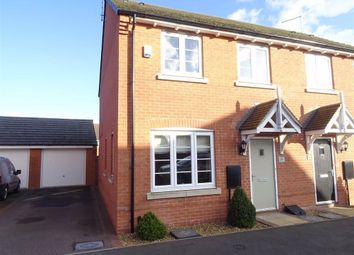 Thumbnail 3 bed semi-detached house for sale in Old Farm Lane, Newbold Verdon, Leicester