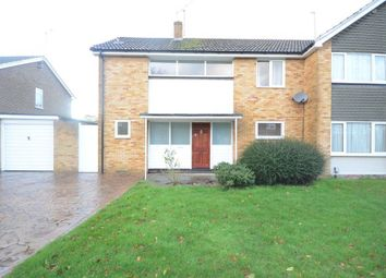 Thumbnail 3 bed semi-detached house to rent in Lunds Farm Road, Woodley, Reading