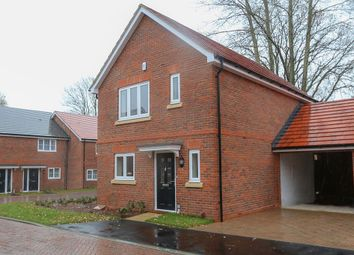 Thumbnail 3 bedroom link-detached house for sale in Spring Wood Close, Bunces Lane, Burghfield Common, Berkshire