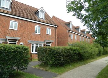 Thumbnail 4 bed end terrace house to rent in Robins Crescent, Witham St. Hughs, Lincoln