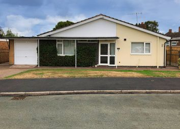 Thumbnail 3 bed bungalow for sale in School Road, Eccleshall, Staffordshire
