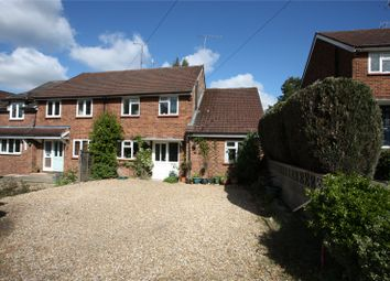 Thumbnail 4 bed semi-detached house for sale in Burnt Hill Road, Farnham, Surrey