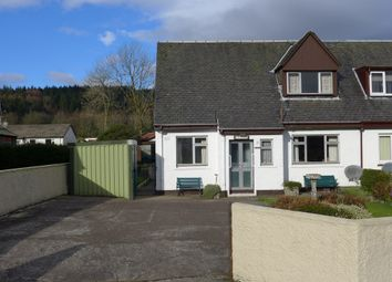 Thumbnail 4 bed semi-detached house for sale in 12 Riochan, Inveraray