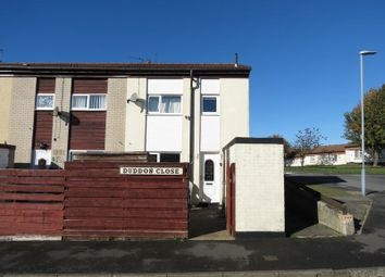 Thumbnail 2 bed end terrace house to rent in Duddon Close, Peterlee