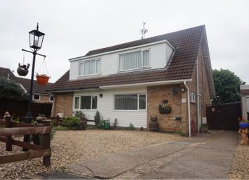 Thumbnail 3 bed semi-detached house for sale in Linford Close, Wigston