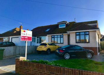 Thumbnail 4 bedroom bungalow for sale in Gladys Avenue, Peacehaven