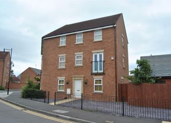 Thumbnail 5 bed town house for sale in Isambard Way, Redhouse, Swindon