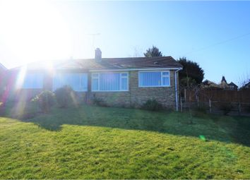 Thumbnail 2 bed semi-detached bungalow for sale in Foxglove Road, Ashford