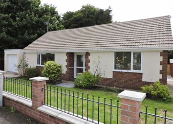 Thumbnail 3 bed detached bungalow for sale in Broadmead Crescent, Bishopston, Swansea