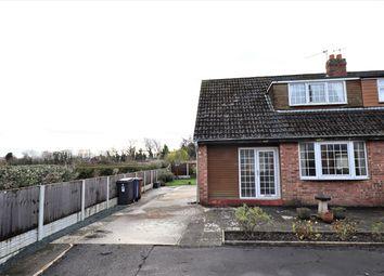 Thumbnail 3 bed semi-detached bungalow for sale in Knot Acre, New Longton, Preston