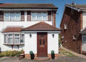 Thumbnail 3 bed semi-detached house for sale in Britannia Way, Stanwell, Staines