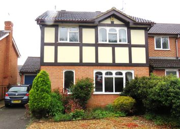 Thumbnail 4 bedroom detached house for sale in Icknield Drive, West Hunsbury, Northampton