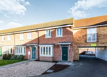 Thumbnail 3 bed end terrace house for sale in Mayflower Mews, Grantham