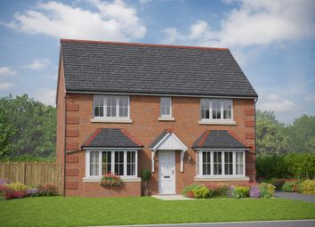 Thumbnail 4 bed detached house for sale in The Betws, Cymau Lane, Abermorddu, Flintshire
