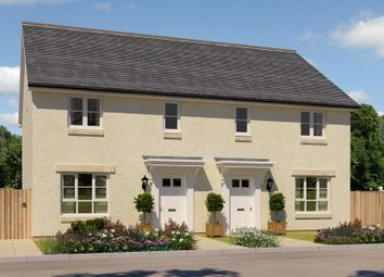 "Thumbnail 3 bedroom semi-detached house for sale in ""Traquair"" at Salters Road, Wallyford, Musselburgh"