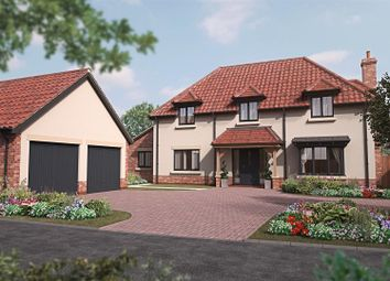 Thumbnail 4 bed detached house for sale in Cow Lane, Tealby, Market Rasen