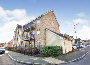 Thumbnail 2 bed flat for sale in 1 Meadfarm Close, Romford