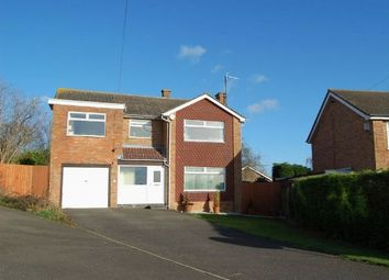 Thumbnail 4 bed detached house for sale in Glenfield Drive, Great Doddington, Northampton