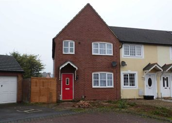 Thumbnail 3 bed end terrace house for sale in May Close, Swindon