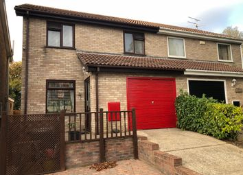Thumbnail 3 bed semi-detached house for sale in Elizabeth Way, Stowmarket