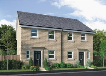 "Thumbnail 3 bed semi-detached house for sale in ""Hawthorne"" at King Street, Drighlington, Bradford"