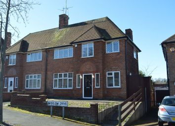Thumbnail 3 bed semi-detached house for sale in Wicklow Drive, Evington, Leicester