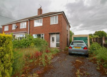 Thumbnail 3 bed semi-detached house for sale in Leycett Road, Scot Hay, Newcastle