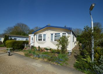 Thumbnail 2 bed mobile/park home for sale in Ramsey Road, Warboys, Huntingdon