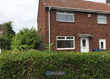 Thumbnail 2 bed semi-detached house to rent in Marsham Road, Newcastle Upon Tyne