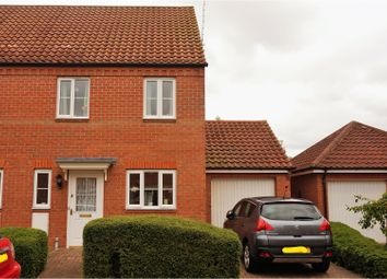 Thumbnail 3 bed semi-detached house for sale in Cowslip Crescent, Bourne