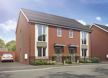 Thumbnail 3 bed semi-detached house for sale in Plot 93 Weogoran Park, Whittington Road, Worcester