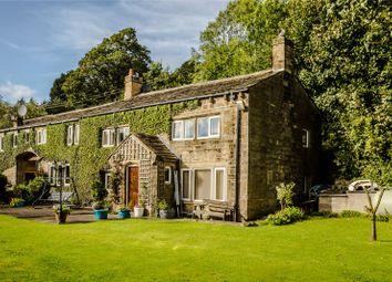 Thumbnail 4 bed equestrian property for sale in Newsholme Dean Farm, Dean Lane, Oakworth