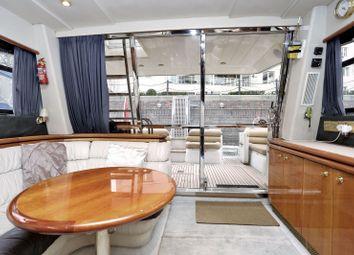 Thumbnail 4 bedroom houseboat for sale in Chelsea Harbour, Chelsea