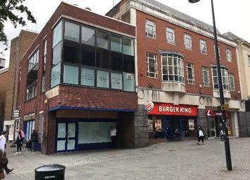 Retail premises to let in East Street, Derby DE1