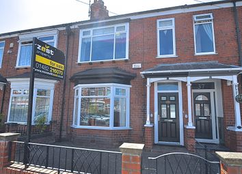 Thumbnail 3 bed terraced house for sale in Shaftesbury Avenue, Hull