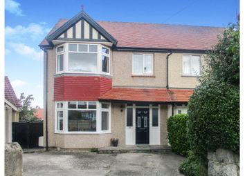 Thumbnail 4 bed semi-detached house for sale in Dinerth Park, Rhos On Sea