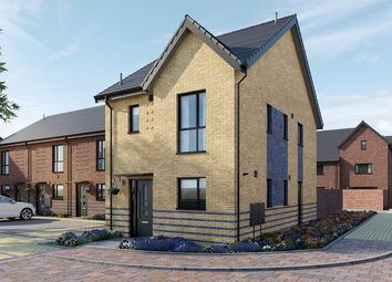 Thumbnail 3 bed semi-detached house for sale in Keightley Gate, Glebe Farm, Milton Keynes