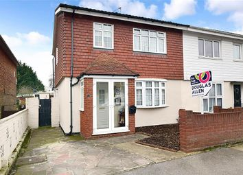 Thumbnail 3 bed semi-detached house for sale in Huntsman Road, Ilford, Essex