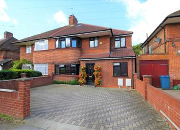 Thumbnail 5 bed semi-detached house for sale in Longcrofte Road, Canons Park, Edgware