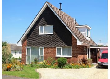 Thumbnail 3 bed detached house for sale in Fitzpain Road, West Parley