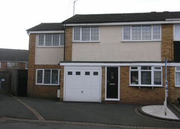 Thumbnail 4 bed semi-detached house for sale in Forth Way, Halesowen