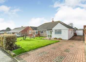 Thumbnail 2 bed semi-detached bungalow for sale in Coombe Road, Hoo, Rochester