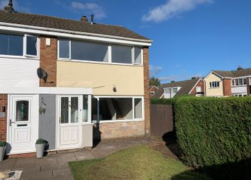 Thumbnail 3 bed end terrace house to rent in Woodland Way, Burntwood