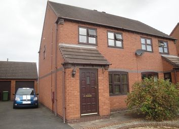 Thumbnail 3 bed semi-detached house to rent in Meadow Close, Market Drayton
