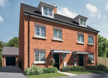 "Thumbnail 3 bed semi-detached house for sale in ""The Heywood"" at Station Approach, Westbury"