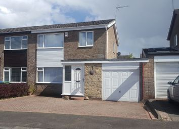 Thumbnail 3 bed semi-detached house for sale in Kirton Way, Cramlington