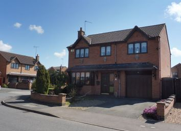 Thumbnail 4 bed detached house for sale in Stanier Road, Corby