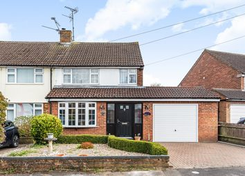 Thumbnail 3 bed semi-detached house for sale in Monmouth Close, Toddington